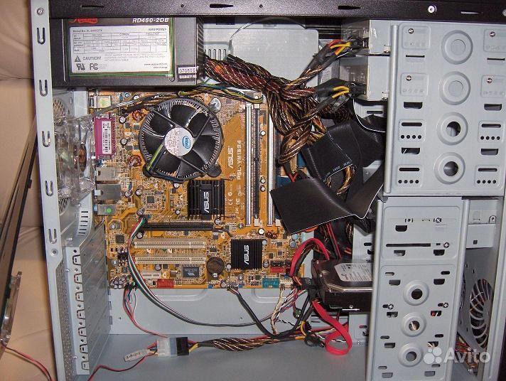 Собрать компьютер своими руками схема