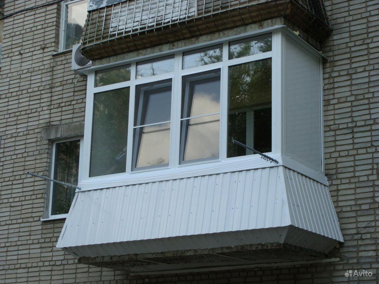 Нестандартное остекление балконов..