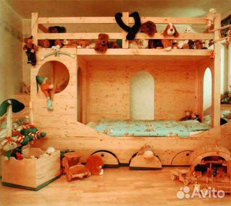 Мебель в детскую своими руками из дерева фото 167