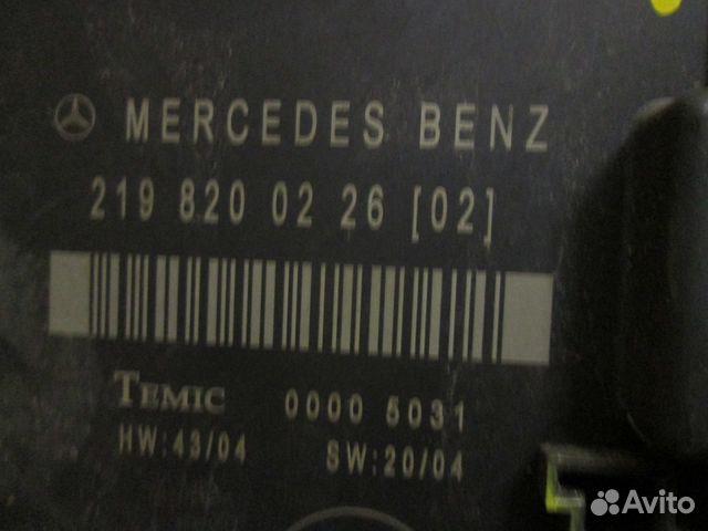 Блок комфорта для Mercedes