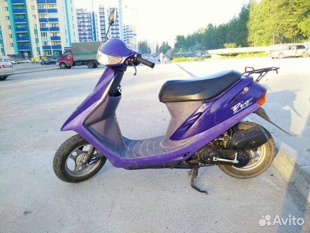 Скутер в хорошем состоянии, сел и поехал