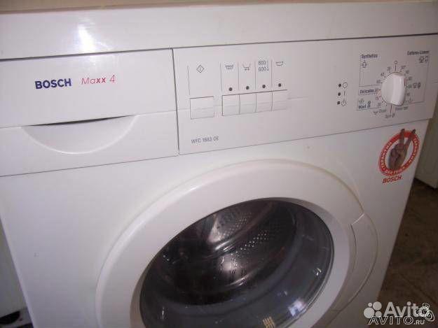 стиральная машина бош махх 5 инструкция неисправности