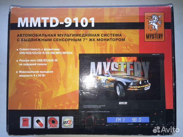 экраном Mystery mmtd-9101