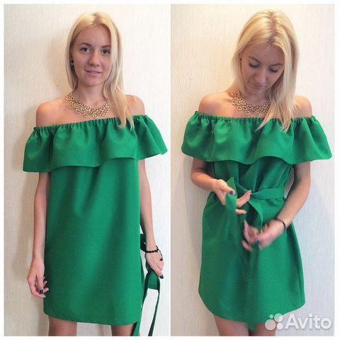 Платье с воланами шить