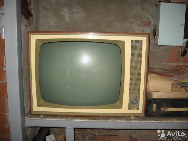 Телевизор горизонт 68года