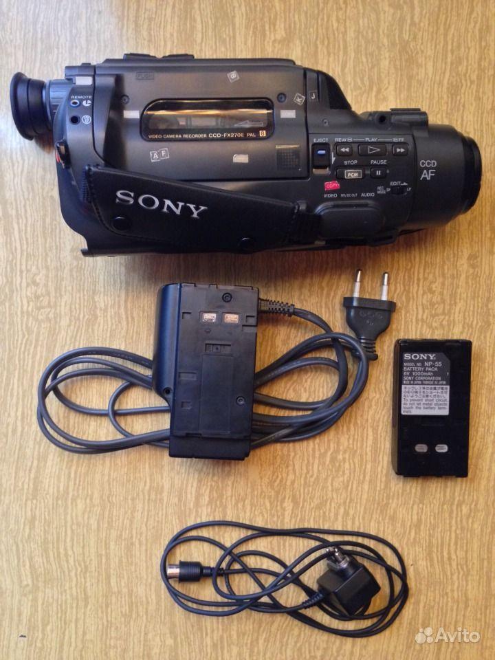 Sony CCD FX270E — фотография №