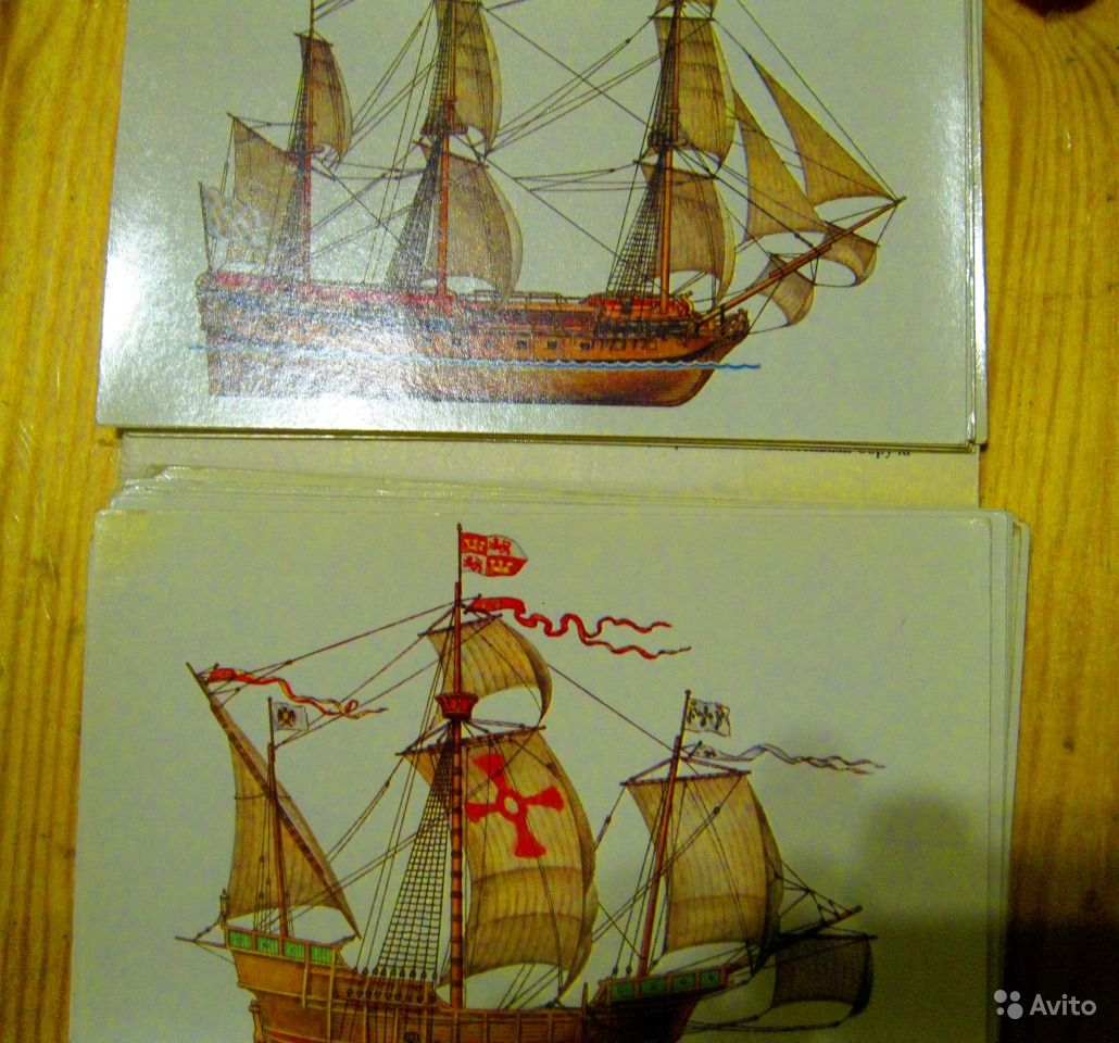 Набор открыток история корабля цена