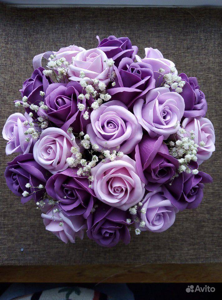Мыльные цветы купить на Зозу.ру - фотография № 1