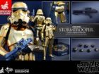 Hot Toys Sideshow Exclusive Stormtrooper Gold