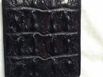 4eb8f220e1c0 кожа крокодила мужской кошелек - Авито — объявления в Москве