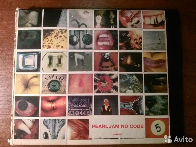 "Pearl Jam - ""NO code"" DigiBook CD— фотография №1"