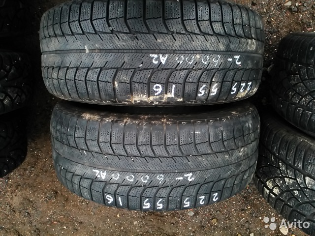 Зима 225 55 16 Michelin X-Ice xi2 2шт— фотография №1