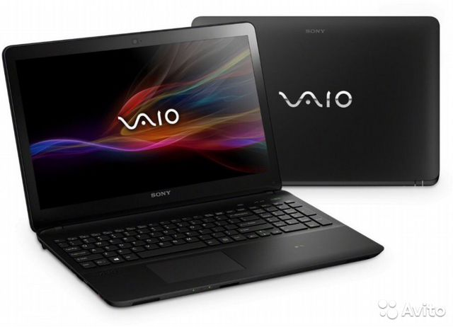 Два ноутбука Sony Vaio SVF Intel core p987/4/500gb— фотография №1