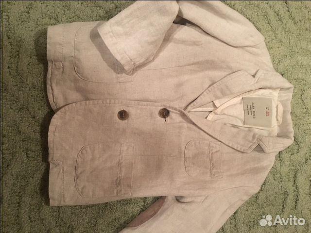 Пиджак льняной Zara