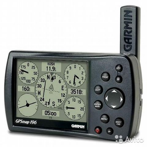 Garmin GpsMap 196 Atlantic авиационный навигатор— фотография №1