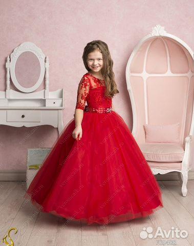 Детские бальные платья в москве