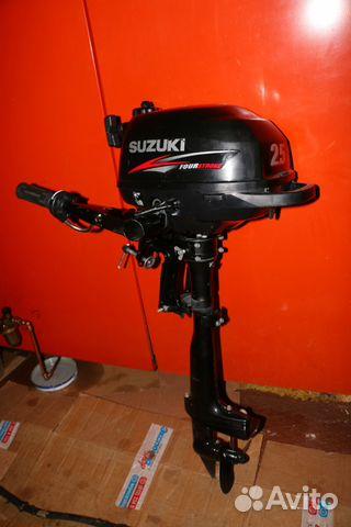 лодочный мотор сузуки 2.5 в петербурге