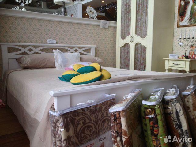2f153018dfe59 Двуспальная кровать из массива белая из массива купить в Санкт ...