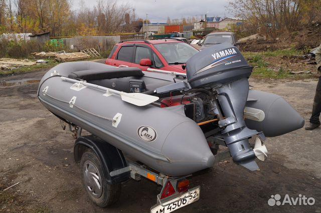 мотор для лодки пвх на авито