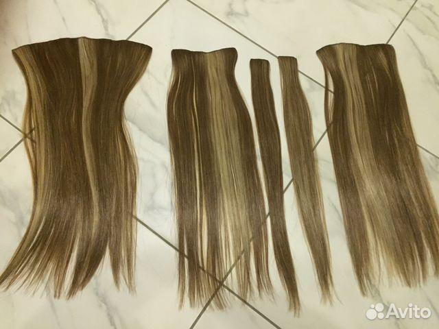 Накладные волосы на заколках москва