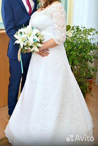 Купить свадебное платье на авито в павлово нижегородской области