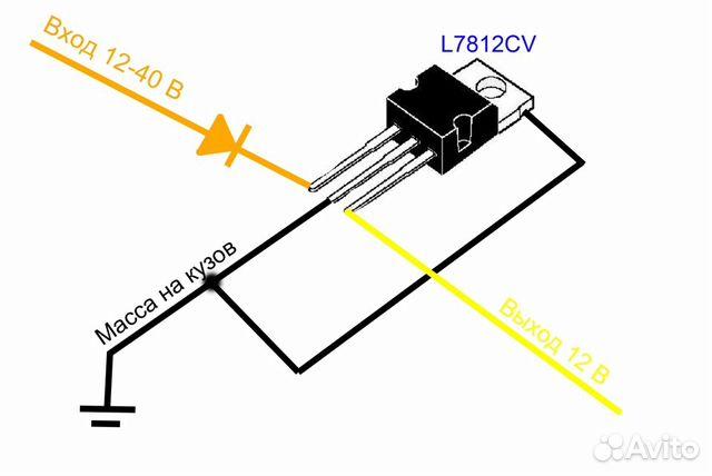 Стабилизатор напряжение на l7812 компенсационный стабилизатор напряжение