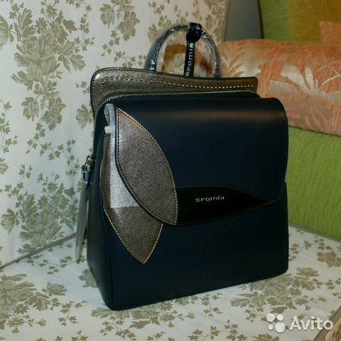 81c60de7a438 Новый рюкзак сумка оригинал Италия Cromia из натур купить в Москве ...