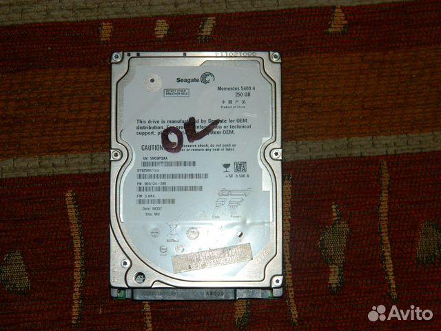 Жесткий диск SATA Seagate для ноутбука
