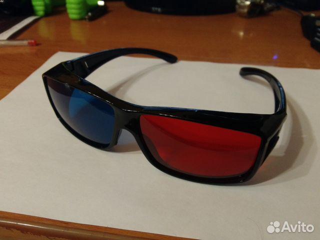 Анаглифные очки 3D  33bf9f268f17b