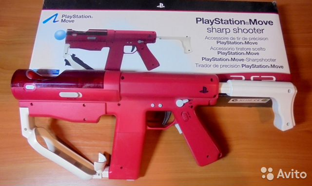 PlayStation Move Sharp Shooter 89379100655 купить 5