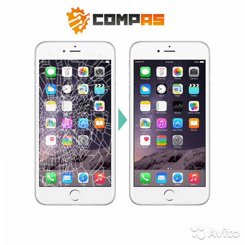 iphone 5s замена стекла брянск