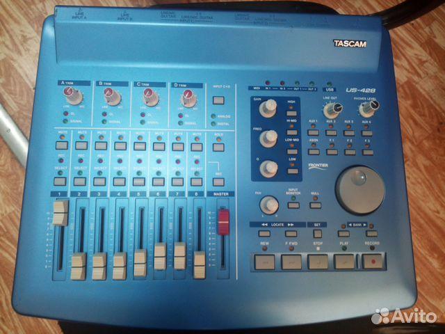 Tascam US-428 звуковая карта, миди-контроллер 89139767854 купить 2