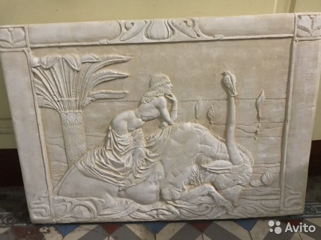 Барельефы настенные в древнегреческом стиле