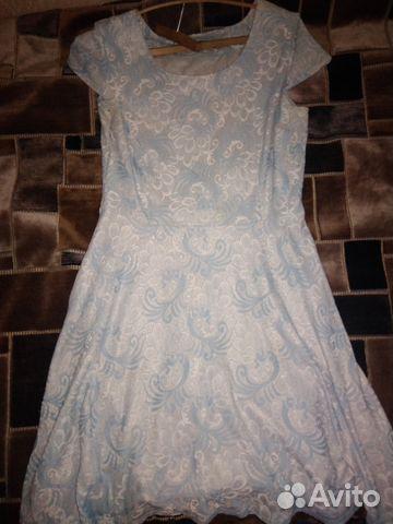 Голубое платье 89006908236 купить 1