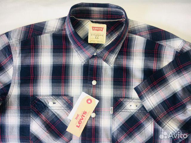 135fdcb37a86be7 Рубашка Levi's, короткий рукав | Festima.Ru - Мониторинг объявлений