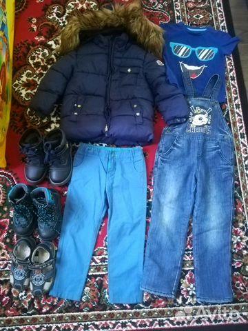 Одежда для мальчика 4-х лет купить в Краснодарском крае на Avito ... be4f8fae40f