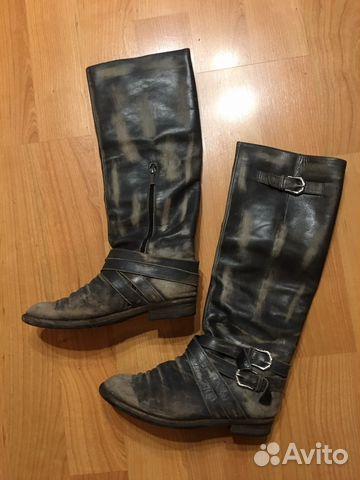 078dc1df69da Высокие кожаные сапоги Mascotte   Festima.Ru - Мониторинг объявлений