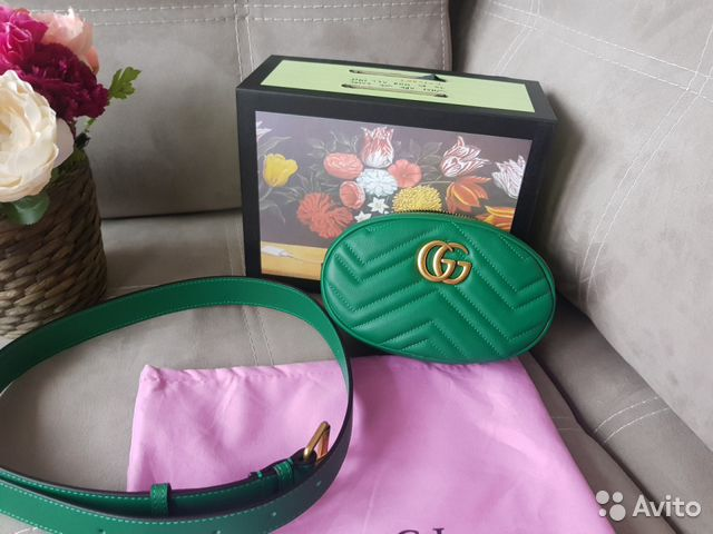 579afe4ec39b Сумка Gucci Marmont Belt купить в Москве на Avito — Объявления на ...