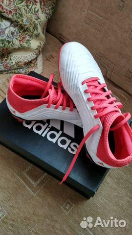 Бутсы футбольные 11шип Adidas Predator 18.3 FG J— фотография №1 695951c7f71