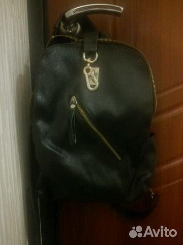 c02852812473 Сумка-рюкзак из экокожи | Festima.Ru - Мониторинг объявлений