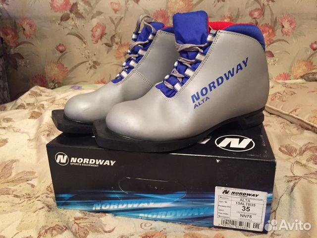 5c08f6b8b757 Детские лыжные ботинки Nordway alta купить в Москве на Avito ...