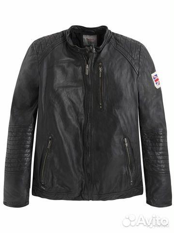0a3c241e217 Куртка Pepe jeans кожаная мужская (size S)