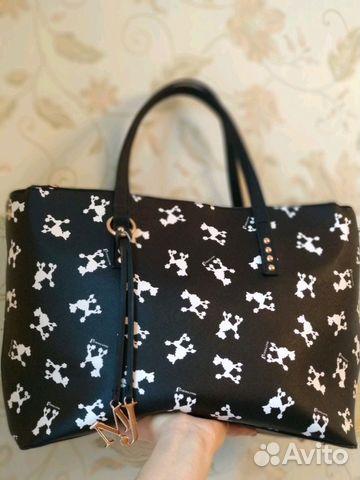 buy popular 4f976 7b5f8 Новая сумка Mattiolo J черная купить в Москве на Avito ...