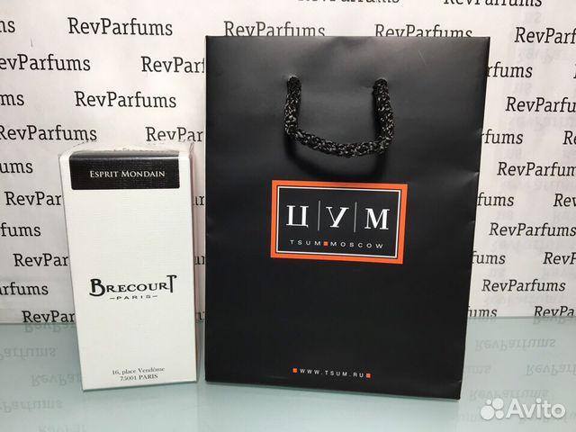 180aaf9eeb60 Brecourt Esprit Mondain 100мл+пакет цум купить в Москве на Avito ...