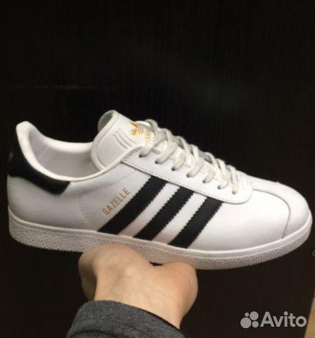 7f4a73db Кроссовки Adidas Gazelle Белые 41-45 | Festima.Ru - Мониторинг ...