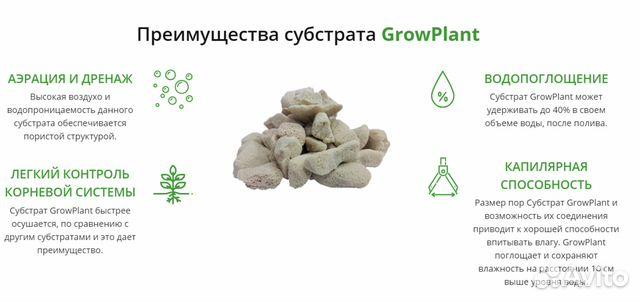 GrowPlant (Gidroton) -лучше агроперелита, керамзит 89029239959 купить 7