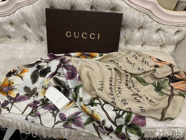 f52c697154b8 Платок Палантин Gucci новый Италия | Festima.Ru - Мониторинг объявлений