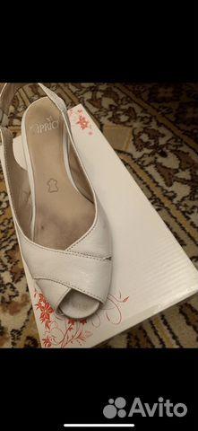 2f8abd237 Туфли босоножки кожаные размер 37, марка Каприз купить в Москве на ...