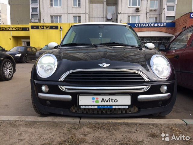 Mini One 2003 купить в москве на Avito объявления на сайте авито