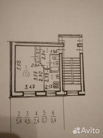 Продается однокомнатная квартира за 3 300 000 рублей. г Санкт-Петербург, ул Пилотов, д 18 к 1.